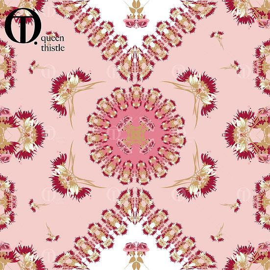Pink/Rose floral No.  03003_03004_03005_Digital patterns.