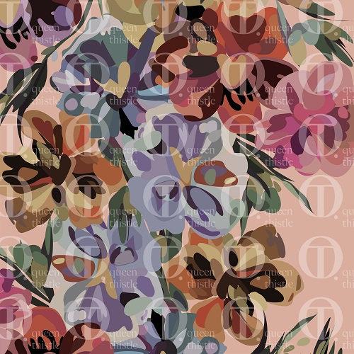 Pansies flowers no 20 & 21 DIGITAL PATTERN