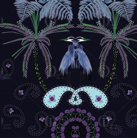 Herons Digital Pattern no.01001_01002.