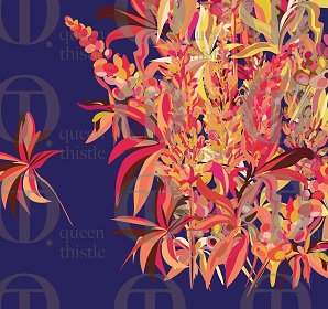 Digital  lupine pattern no. 66 & 67