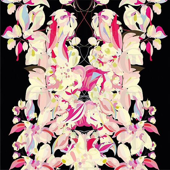 Apple blossom no.18 & 19 DIGITAL PATTERN