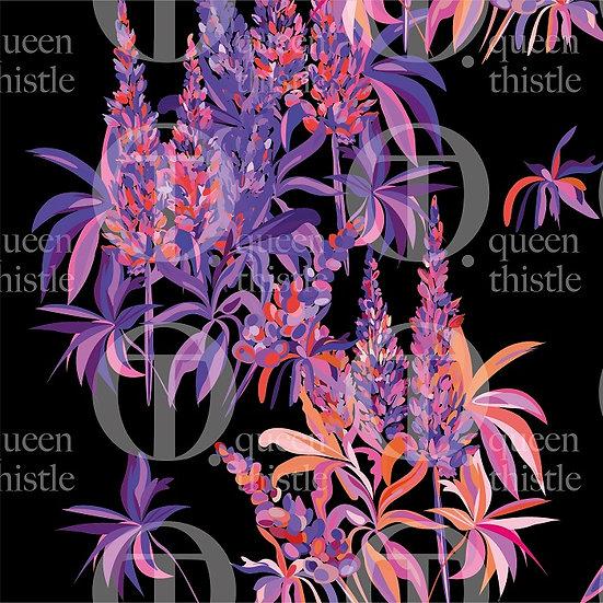 Digital  lupine pattern no. 68 & 69