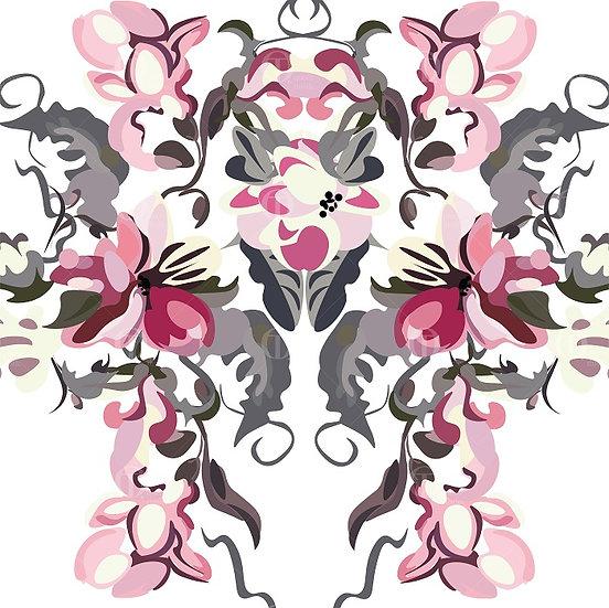 Floral pattern no,0208 & 0209 DIGITAL PATTERN