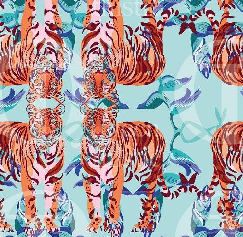 Pattern tiger no. 137 & 138