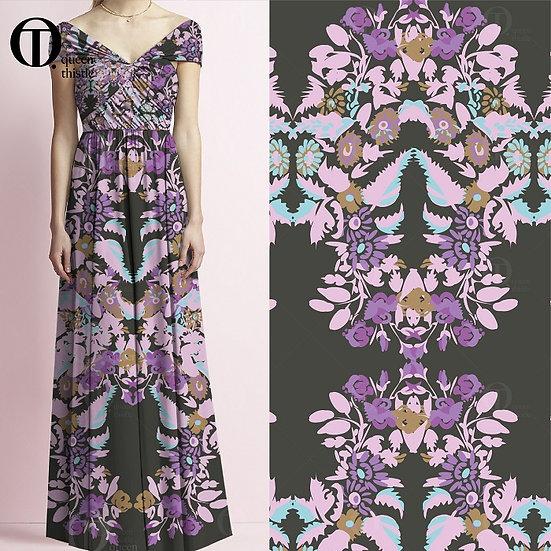 Floral pattern No. NO.00101-NO.00102_NO.00103_NO.00104 Digital pattern.