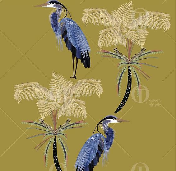 Herons Digital Pattern no.01003_01004