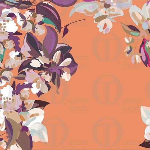 Apple blossom no.03 & 04 DIGITAL PATTERN