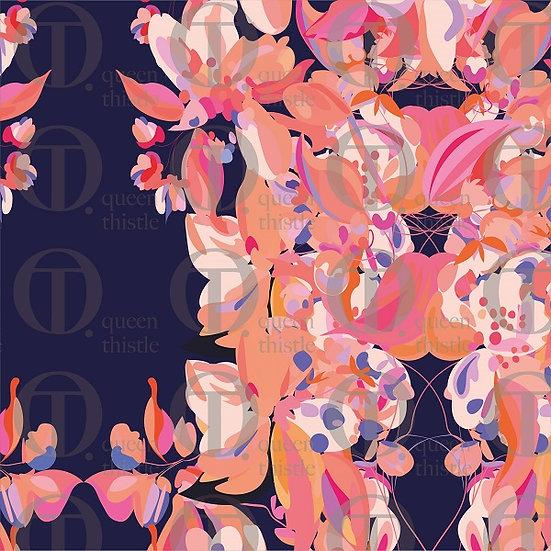 Apple blossom no.20 & 21  DIGITAL PATTERN