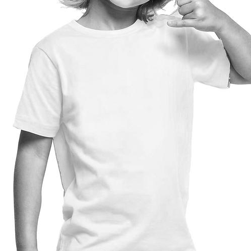 Playera para Tie Dye infantil