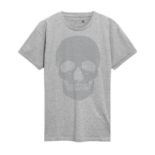 Translucida Skull Gris Hombre