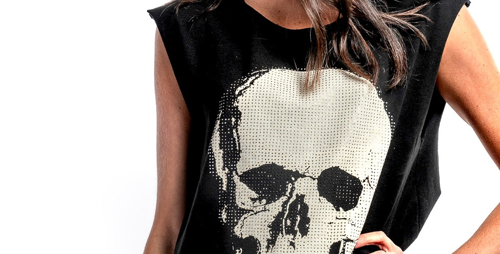 Skull Ink Negra