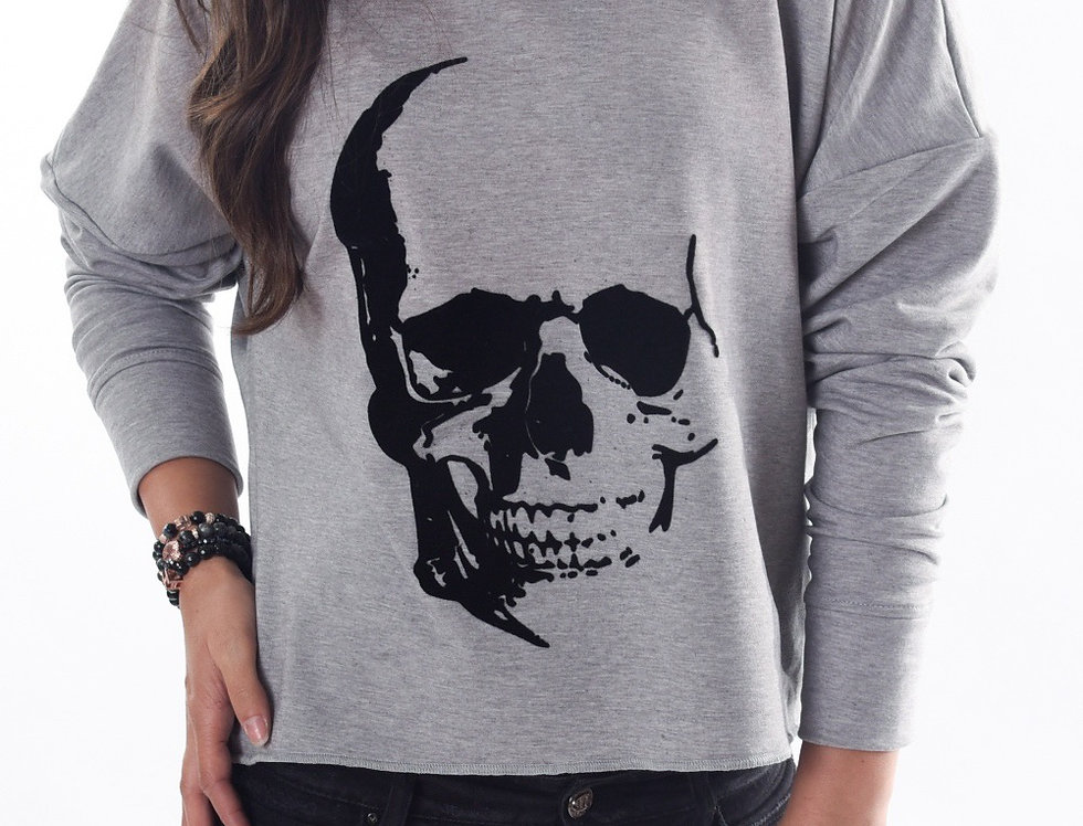 Sweat crop Skully