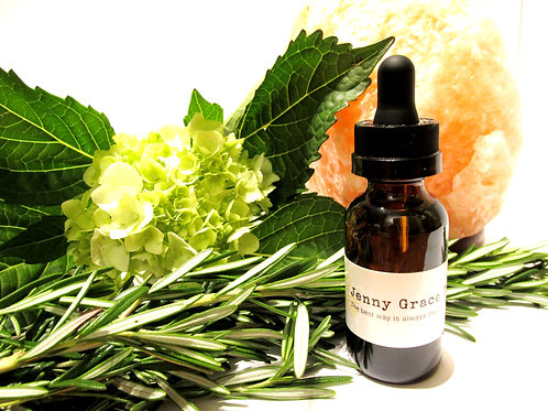 Organic Eucalyptus Radiata Essential Oil 1 oz.