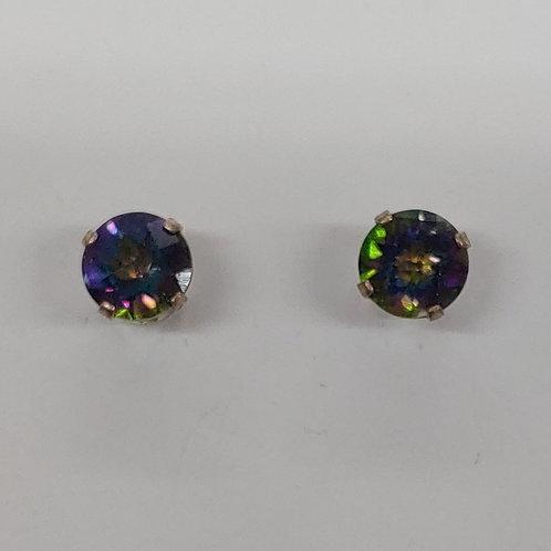 6 mm Stud Earrings in Sterling Silver (Pair)