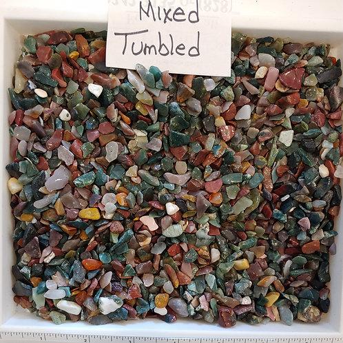 Mixed Tumbled Agate Rough