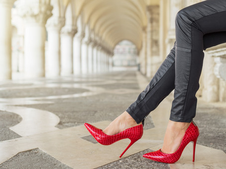 Trending Red Heels Styles and Colors