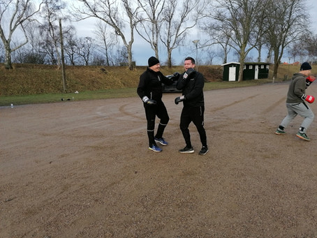 OutNordic Boxing med team Christian