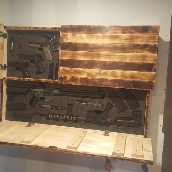 Surprise! Hidden Air Soft Armory
