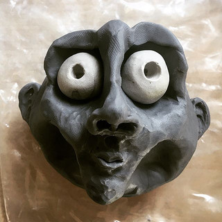 Scrap clay and idle hands...Don't know w