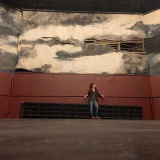 Hunger Artist Back Wall--matching the mu