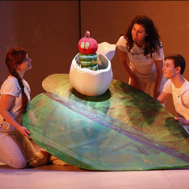 The Very Hungry Caterpillar Show at Theater Row, Build Team