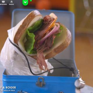 Roast Beef and Roger, Nickelodeon