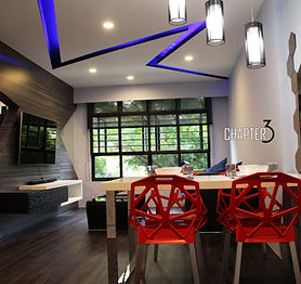 Living design space ideas, modern design, chapter 3 interior design pte ltd,