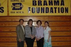 2009 Staff Appreciaton Brahma Foundation