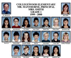 1999 CWD, J.Smith_s 1st Grade Class, Pri