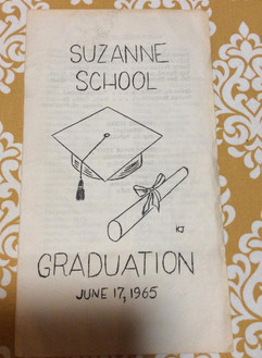 Suzanne 1965 graduation program.jpg