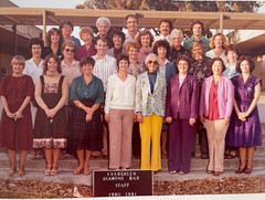 1981_Group Picture - Staff - Mona Choi H