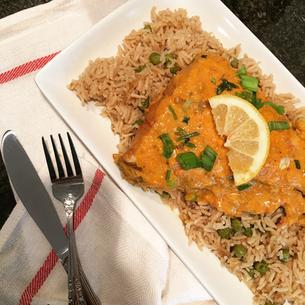 Creamy Fish Curry