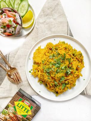 Tahiri:Potato & Pea Rice