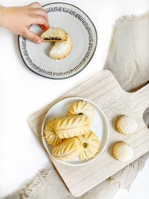 Ma'moul (Date Filled Cookies)