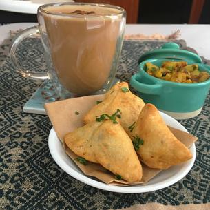Homemade Punjabi Samosas