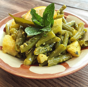 Spiced Potato & Fenugreek French Beans