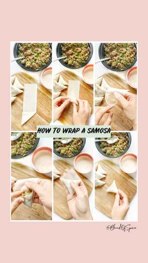How To Wrap Samosas & Egg Rolls