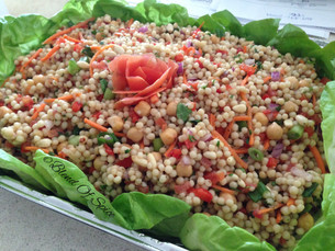 Pearled Couscous Salad (Maftoul Salad)