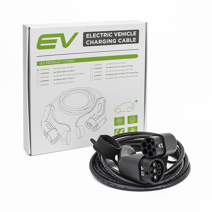 EVPP0080-16A-5m-Type-2---Type-2-Charging