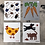 Thumbnail: Three Birds Swedish Dishcloths