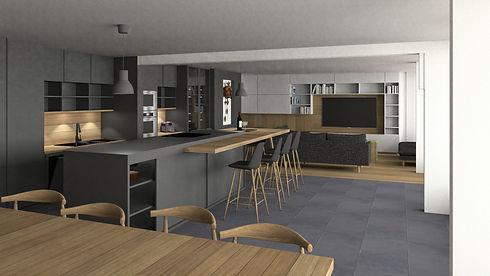 Agencement - Aménagement intérieur - Architecture - 3D