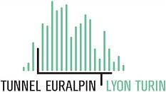 Logo Tunnel euralpin Lyon Turin - TELT