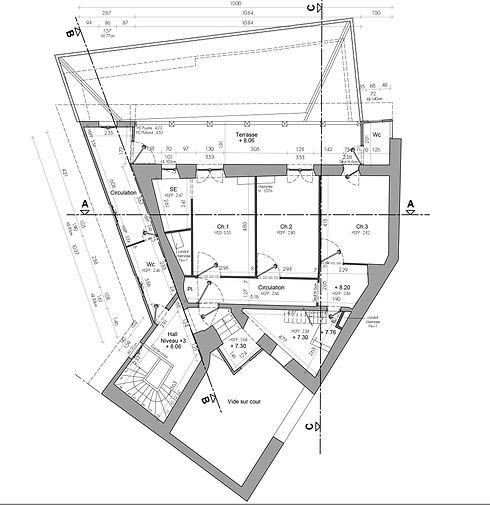 Relevé - Plan - Architecture