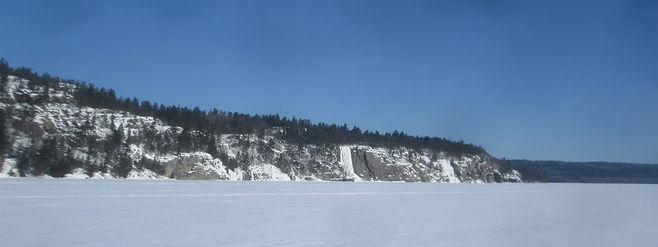 Granary Lake ice