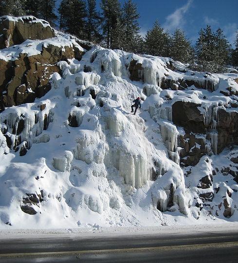 Hwy 69 ice