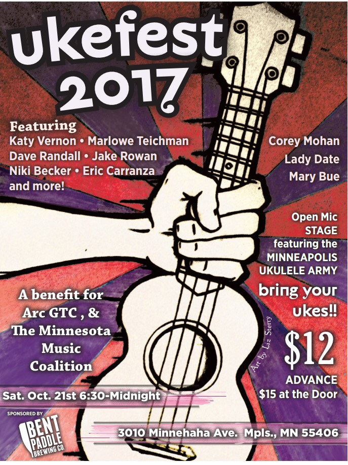 Ukefest 2017 with Katy Vernon, Dave Randall, more