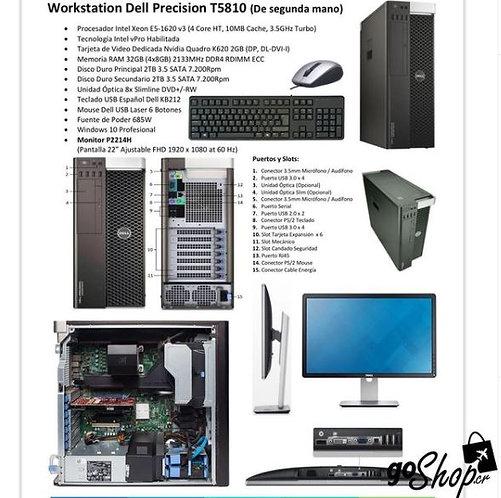 Workstation Dell Precision T5810 (segunda mano)