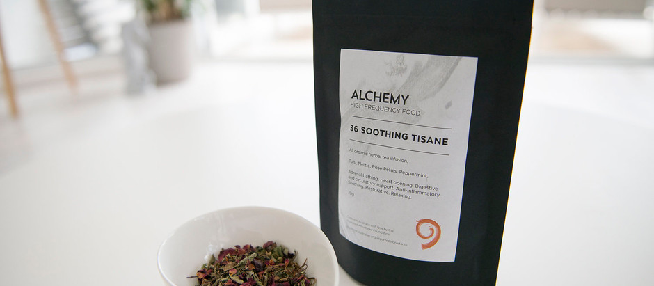 GHTV - Alchemy Soothing Tisane  and Beautiful Holistic Food at The Greenhouse