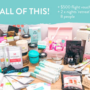 Amazing Autumn Wellness Giveaway Valued at $4000