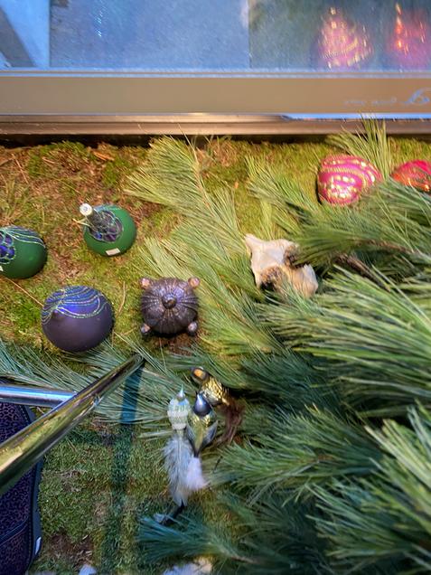Ausgefallene Weihnachtskugel